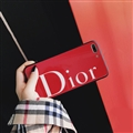 Round Dior Marble Aurora Laser Skin Glass Covers Protective Back Cases For iPhone XS Max - Red
