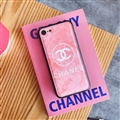 Unique Shell Chanel Genuine Leather Back Covers Holster Cases For iPhone XS Max - Pink