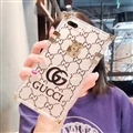 New Gucci Women Back Cases Shell For iPhone XS Silicone Soft Covers - Black