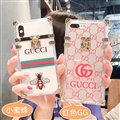 New Gucci Women Back Cases Shell For iPhone XS Silicone Soft Covers - Red