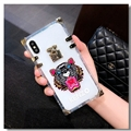 New Kenzo Women Back Cases Shell For iPhone XS Silicone Soft Covers - Tiger