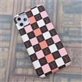 Classic Lattice Skin LV Leather Back Covers Holster Cases For iPhone 11 Pro Max - 02