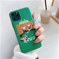 Cute Kaws Shell Matte Covers Protective Back Cases For iPhone 11 Pro Max - Green 02
