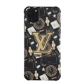 Classic LV Housing Matte Covers Protective Back Cases For iPhone 11 - Gold