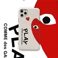 Lovers PLAY Shell Matte Covers Protective Back Cases For iPhone 11 - Red